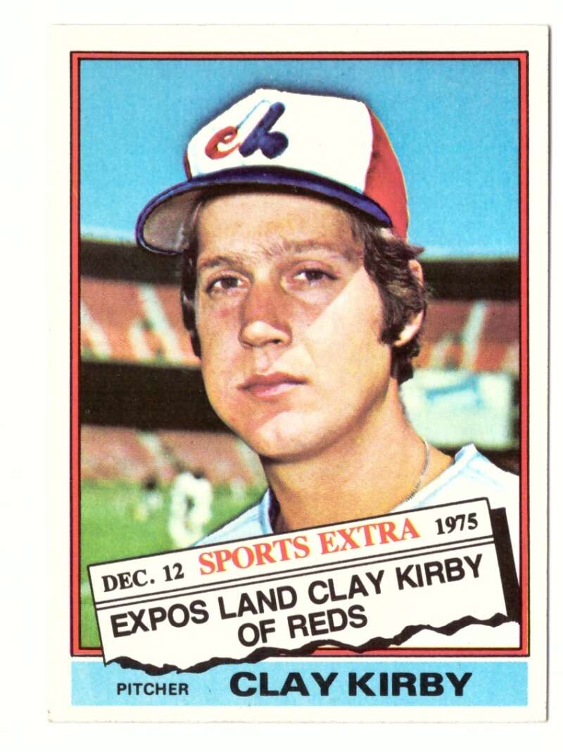 1976 TOPPS TRADED - MONTREAL EXPOS