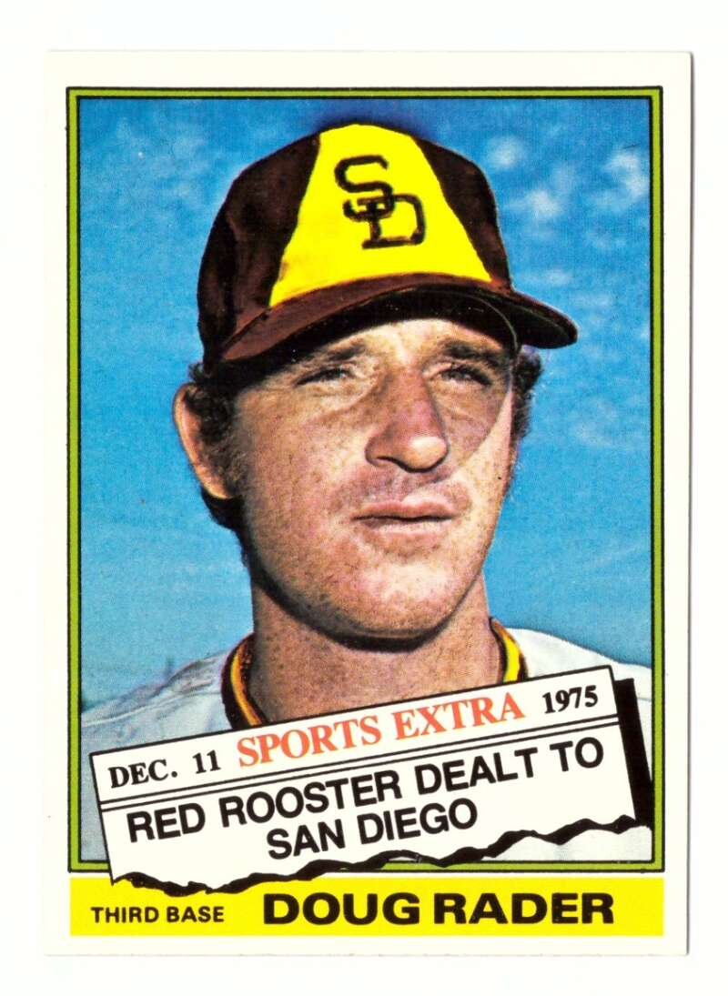 1976 TOPPS TRADED - SAN DIEGO PADRES