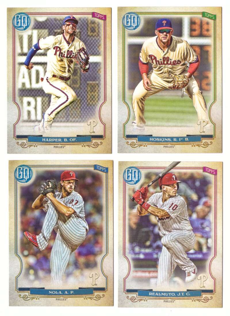 2020 Topps Gypsy Queen (Base) - PHILADELPHIA PHILLIES Team Set