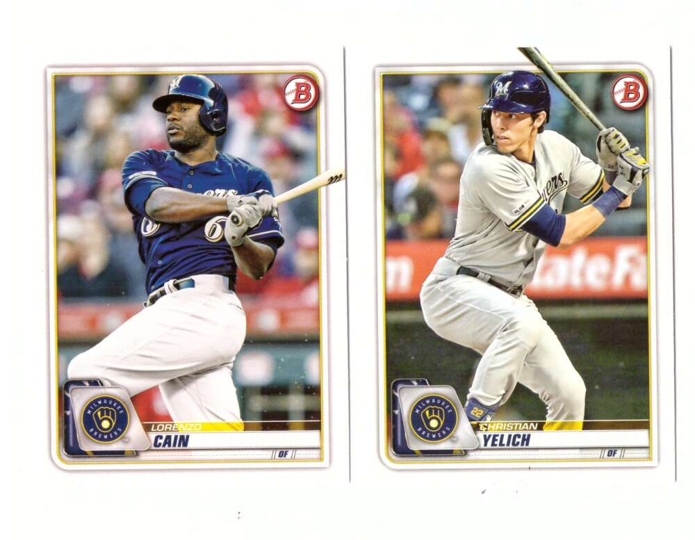 2020 Bowman - MILWAUKEE BREWERS