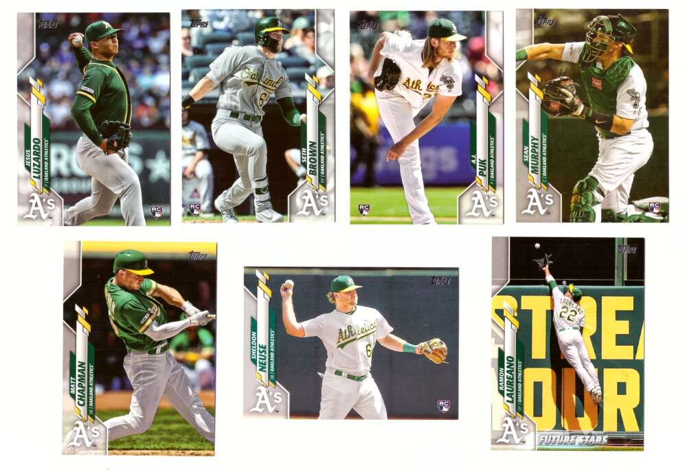 2020 Topps - OAKLAND As Team set