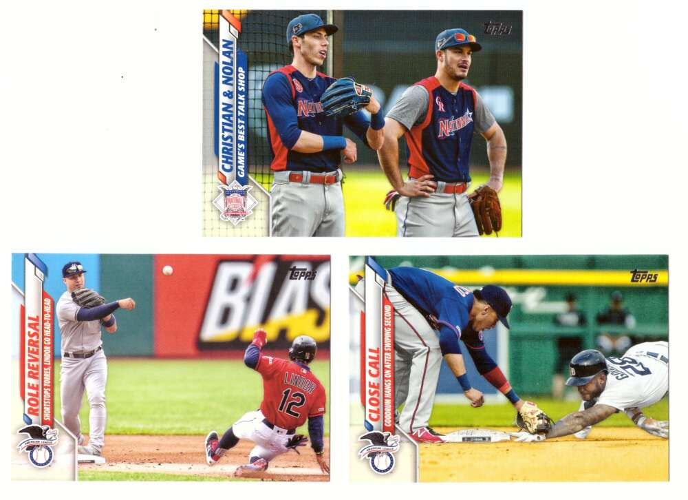 2020 Topps - Combo cards 3 card lot