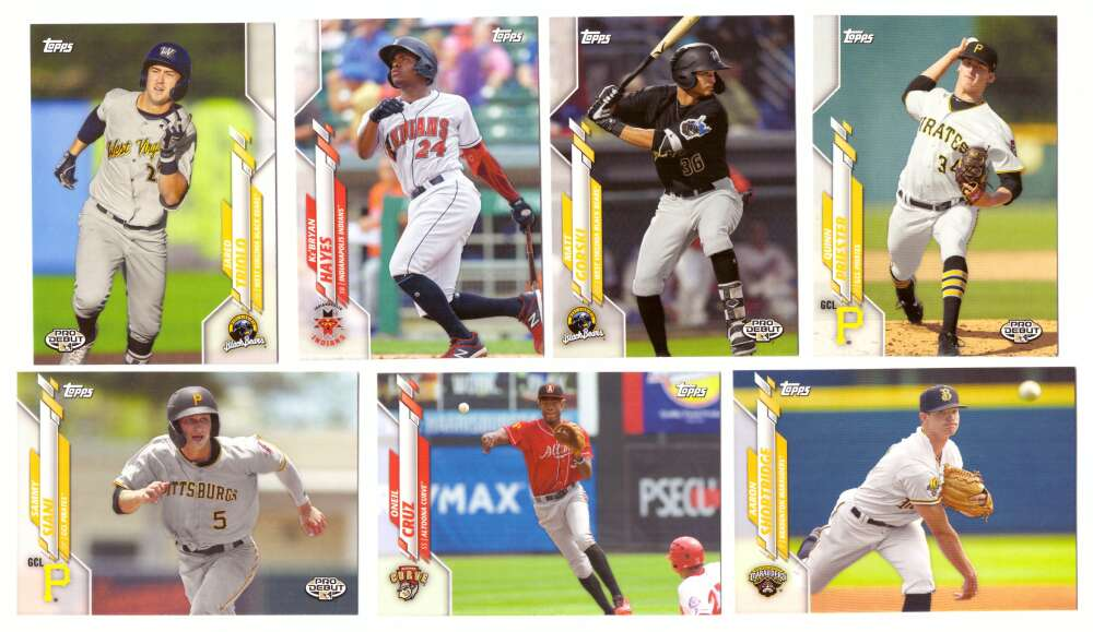 2020 Topps Pro Debut - PITTSBURGH PIRATES Team Set