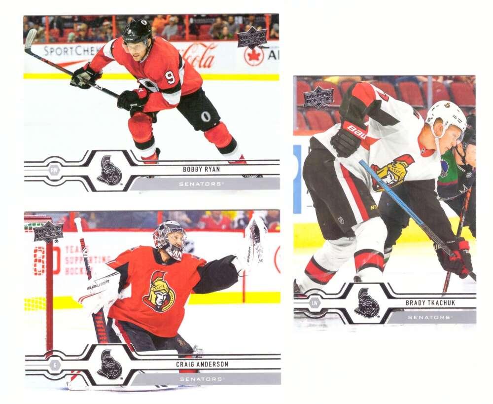 2019-20 Upper Deck (1-200, 251-450) Hockey Team Set - Ottawa Senators