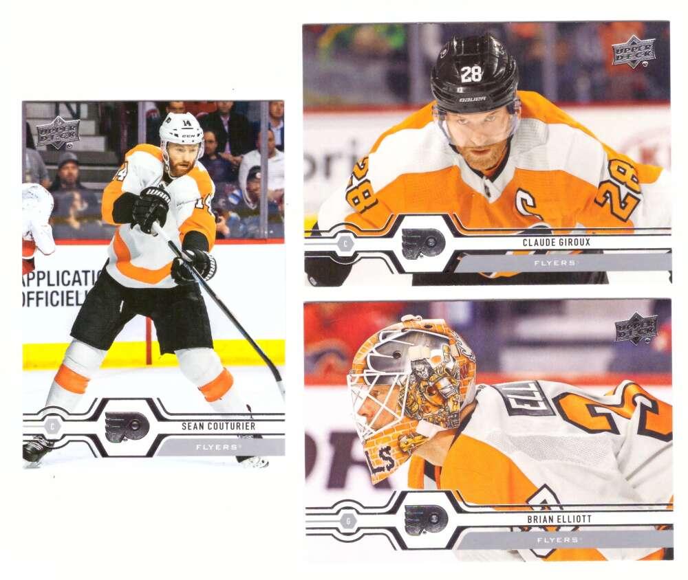 2019-20 Upper Deck (1-200, 251-450) Hockey Team Set - Philadelphia Flyers