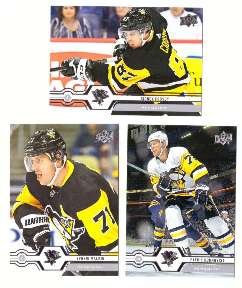 2019-20 Upper Deck (1-200, 251-450) Hockey Team Set - Pittsburgh Penguins