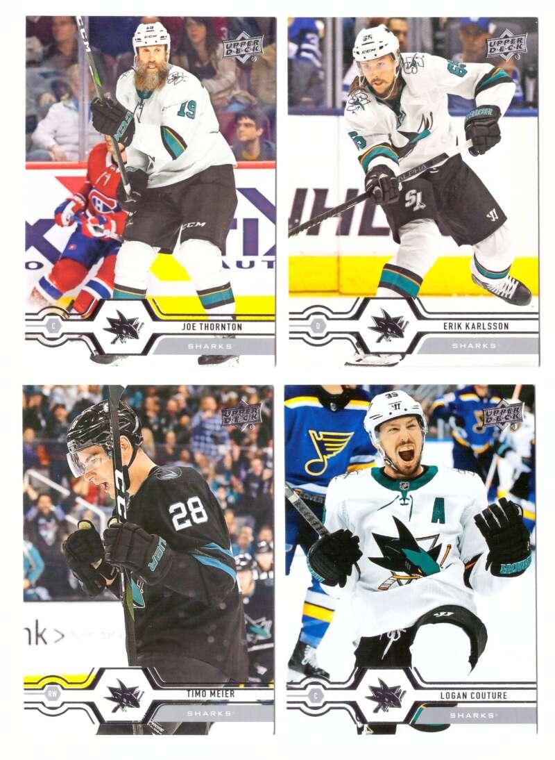 2019-20 Upper Deck (1-200, 251-450) Hockey Team Set - San Jose Sharks