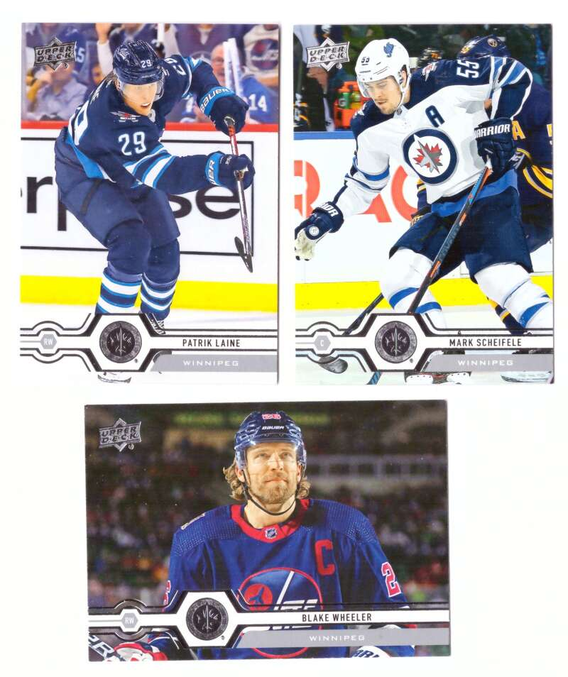 2019-20 Upper Deck (1-200, 251-450) Hockey Team Set - Winnipeg Jets