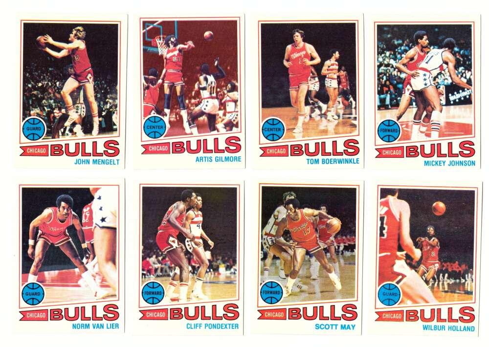 1977-78 Topps Basketball Team Set (A) - Chicago Bulls