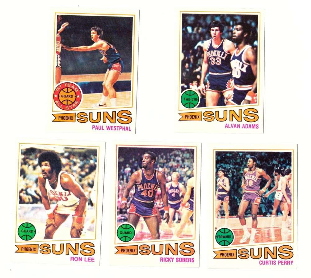 1977-78 Topps Basketball Team Set (A) - Phoenix Suns
