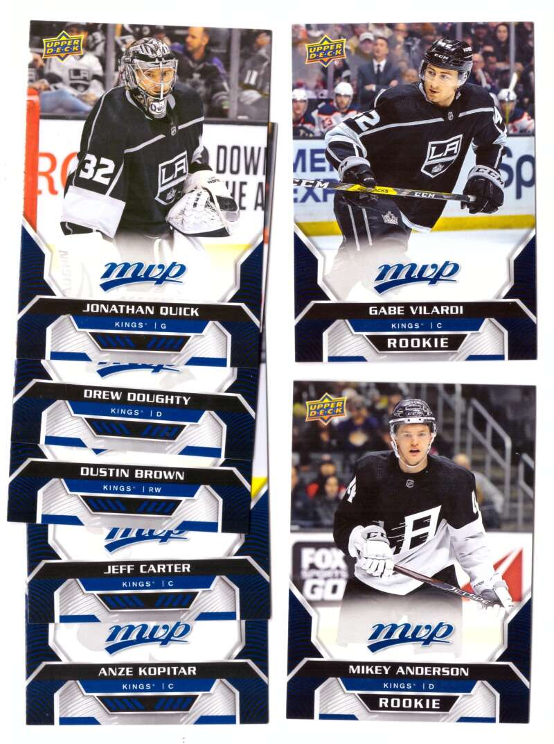2020-21 Upper Deck MVP (1-250) Hockey Team Set - Los Angeles Kings