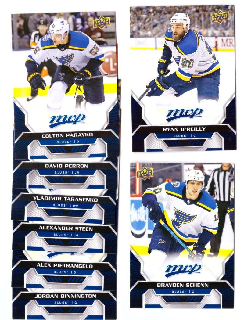 2020-21 Upper Deck MVP (1-250) Hockey Team Set - St. Louis Blues