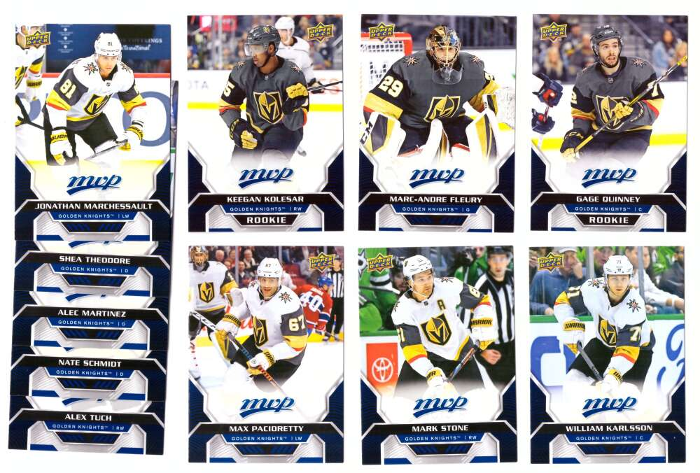 2020-21 Upper Deck MVP (1-250) Hockey Team Set - Vegas Golden Knights