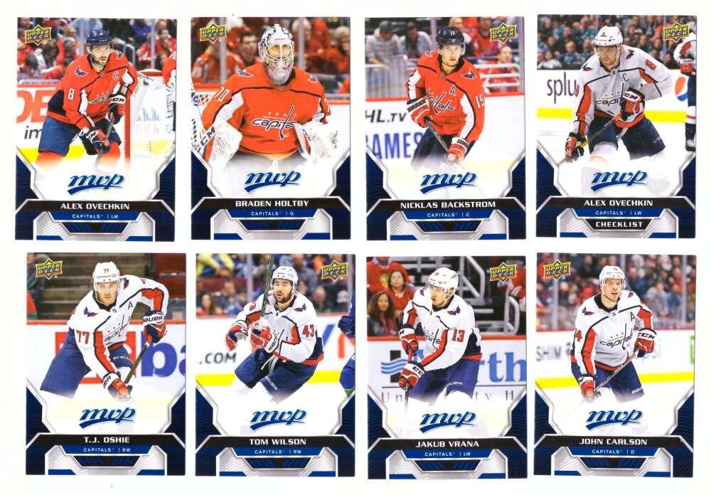2020-21 Upper Deck MVP (1-250) Hockey Team Set - Washington Capitals