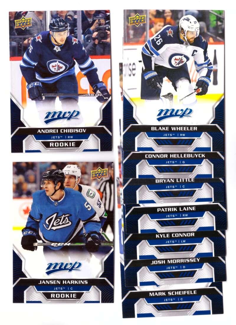 2020-21 Upper Deck MVP (1-250) Hockey Team Set - Winnipeg Jets