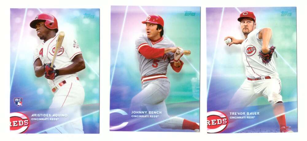 2020 Topps X Steve Aoki - CINCINNATI REDS Team Set