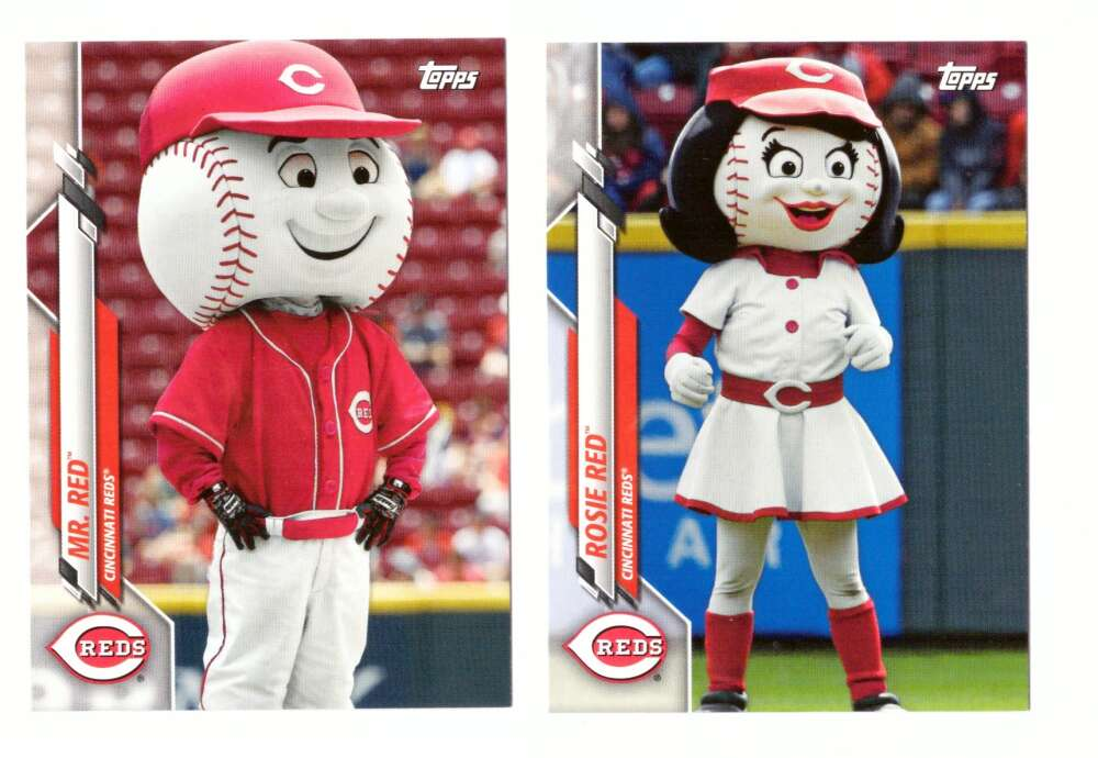 2020 Topps Opening Day Mascots - CINCINNATI REDS