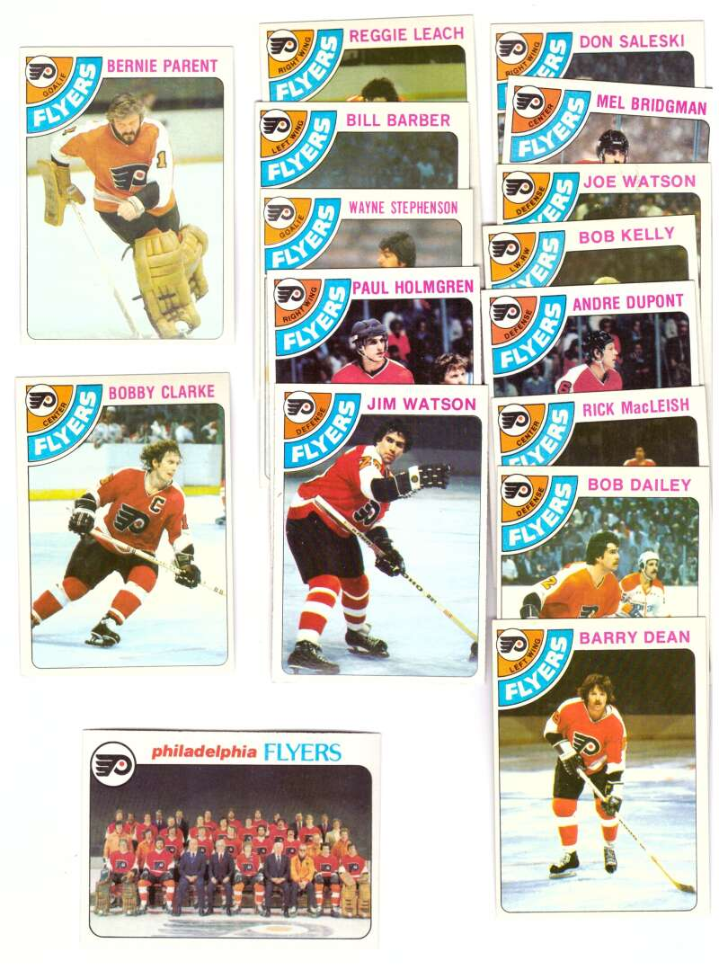 1978-79 Topps Hockey Team Set - Philadelphia Flyers