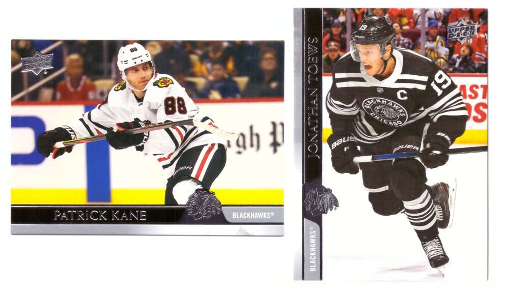 2020-21 Upper Deck (Base 1-200, 251-450) Hockey Team Set - Chicago Blackhawks