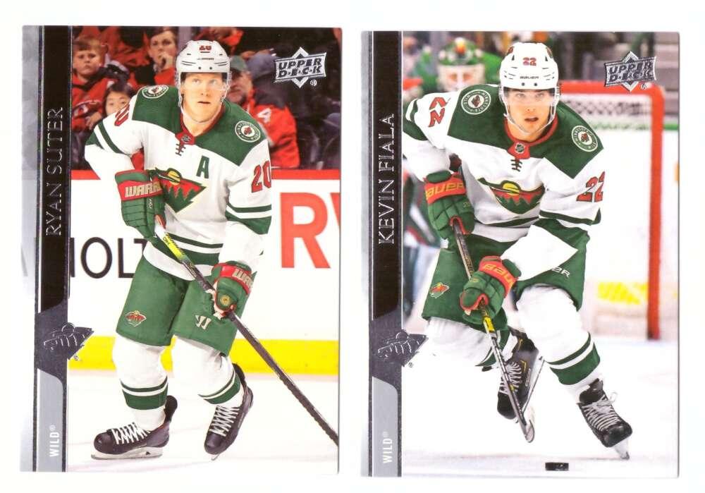 2020-21 Upper Deck (Base 1-200, 251-450) Hockey Team Set - Minnesota Wild