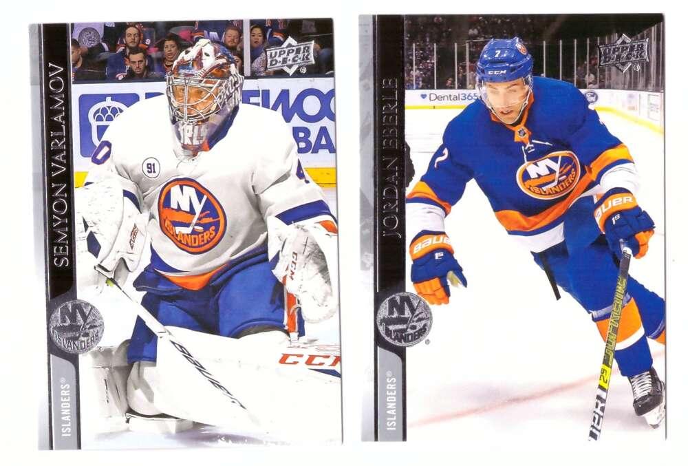 2020-21 Upper Deck (Base 1-200, 251-450) Hockey Team Set - New York Islanders