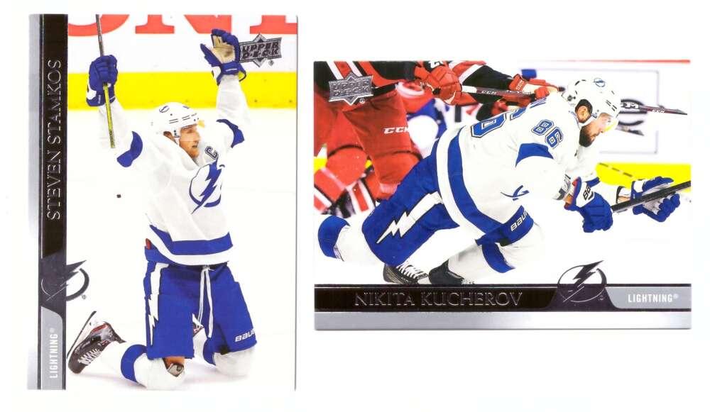 2020-21 Upper Deck (Base 1-200, 251-450) Hockey Team Set - Tampa Bay Lightning
