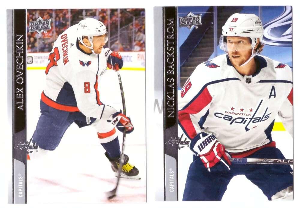 2020-21 Upper Deck (Base 1-200, 251-450) Hockey Team Set - Washington Capitals