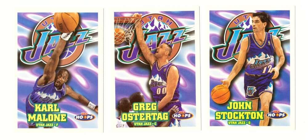 1997-98 Hoops Basketball Team Set - Utah Jazz