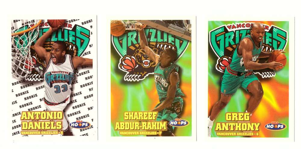 1997-98 Hoops Basketball Team Set - Vancouver Grizzlies