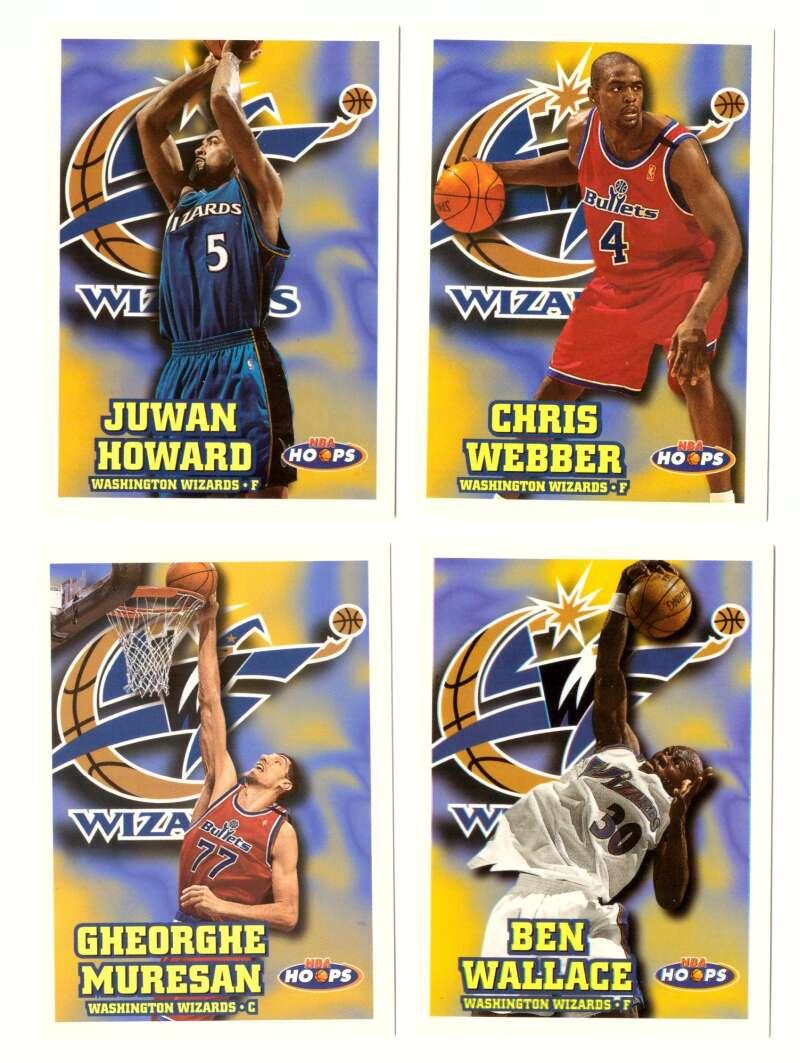 1997-98 Hoops Basketball Team Set - Washington Wizards
