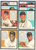 1952 Red Man Reprints - NEW YORK GIANTS Team Set  w/ WILLIE MAYS
