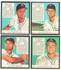 1952 Red Man Reprints - PHILADELPHIA ATHLETICS / A'S Team Set