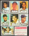 1952 TOPPS Reprints - NEW YORK GIANTS Team Set