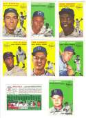 1954 TOPPS ARCHIVES GOLD (1994) - BROOKLYN DODGERS Team Set