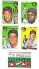 1954 TOPPS ARCHIVES GOLD (1994) - CLEVELAND INDIANS Team Set
