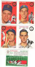 1954 TOPPS ARCHIVES GOLD (1994) - DETROIT TIGERS Team Set