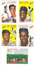 1954 TOPPS ARCHIVES GOLD (1994) - NEW YORK GIANTS Team Set