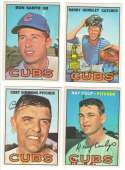 1967 O-Pee-Chee (OPC) - CHICAGO CUBS Team - minus 1