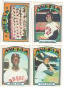 1972 O-Pee-Chee (OPC) - CALIFORNIA ANGELS Team Set