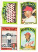 1972 O-Pee-Chee (OPC) - CHICAGO WHITE SOX Team Set