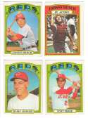 1972 O-Pee-Chee (OPC) - CINCINNATI REDS Team Set  w/ 2 Johnny Bench