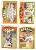 1972 O-Pee-Chee (OPC) - LOS ANGELES DODGERS Team Set