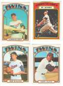 1972 O-Pee-Chee (OPC) - MINNESOTA TWINS Team Set  w/Harmon Killebrew