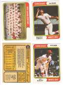 1974 O-Pee-Chee (OPC) - CHICAGO WHITE SOX Team Set w/ Jim Kaat