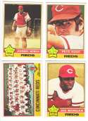 1976 O-Pee-Chee (OPC) - CINCINNATI REDS Team set -1 w/ PETE ROSE JOHNNY BENCH