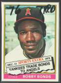 1976 TOPPS TRADED - CALIFORNIA ANGELS Team Set