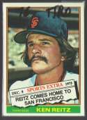 1976 TOPPS TRADED - SAN FRANCISCO GIANTS
