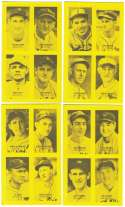 1977 Jim Rowe 4-on-1 Exhibits - Philadelphia Athletics / A'S