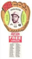1977 Pepsi Glove Discs - HOUSTON ASTROS