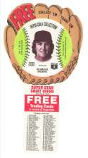 1977 Pepsi Glove Discs - MILWAUKEE BREWERS